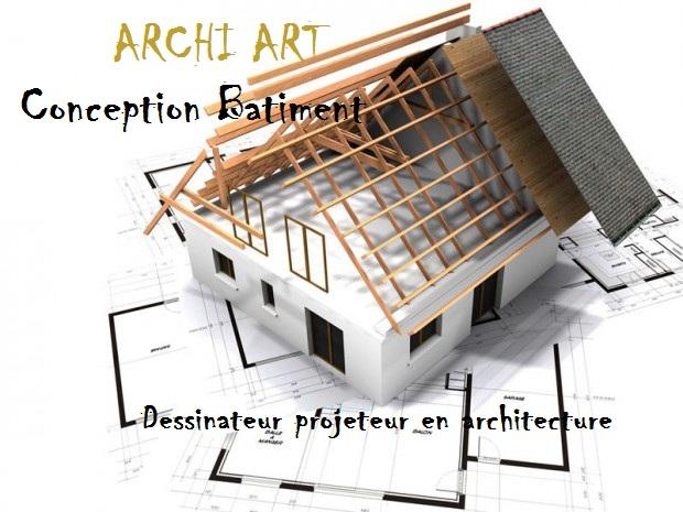 Logo de ARCHI ART Conception bâtiment, société de travaux en Architecture d'intérieur