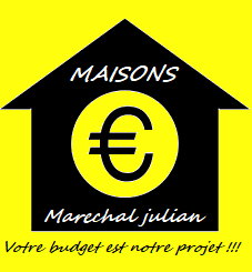 Logo de Maisonmarechal, société de travaux en Construction, murs, cloisons, plafonds en plaques de plâtre