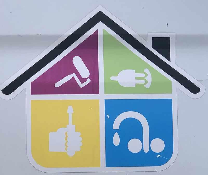 Logo de SLRénovhabitat, société de travaux en Peinture : mur, sol, plafond