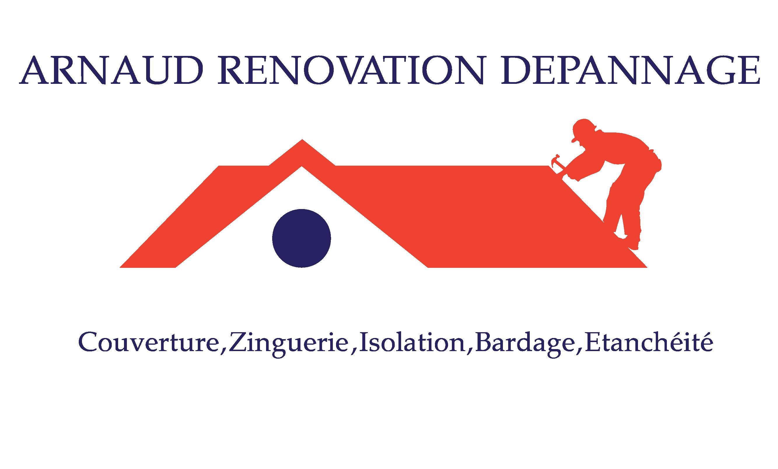 Logo de ARNAUD RENOVATION DEPANNAGE, société de travaux en Nettoyage toitures et façades