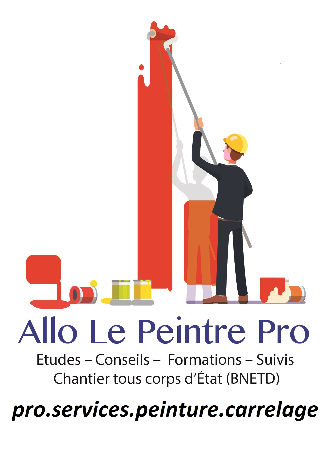 Logo de Pro Services 86 Peinture - Carrelage, société de travaux en Fourniture et pose de parquets flottants