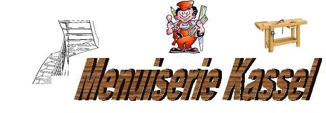Logo de menuiserie kassel jacky, société de travaux en Création d'un escalier sur mesure (bois, métal, béton, verre)