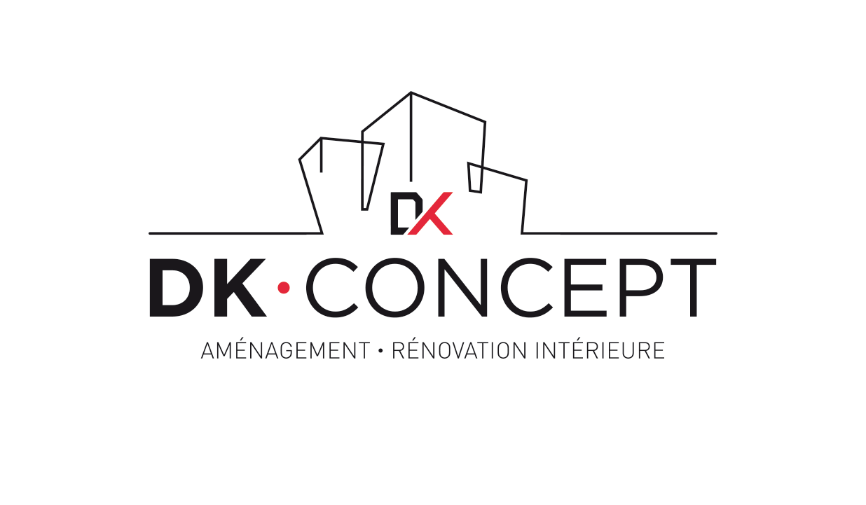 Logo de DK concept, société de travaux en Création complète de salle de bains