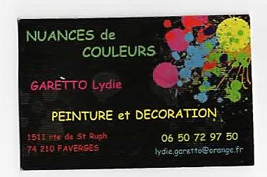 Logo de 1981, société de travaux en Peinture : mur, sol, plafond