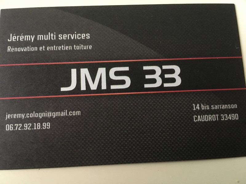 Logo de JMS-33, société de travaux en Décrassage ou démoussage de toiture