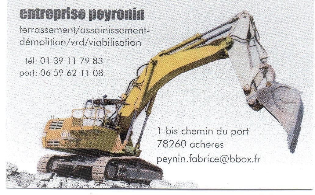 Logo de peyronin, société de travaux en Nettoyage de copropriété