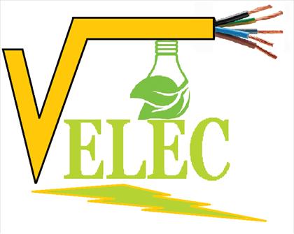 Logo de V ELEC, société de travaux en Installation électrique : rénovation complète ou partielle