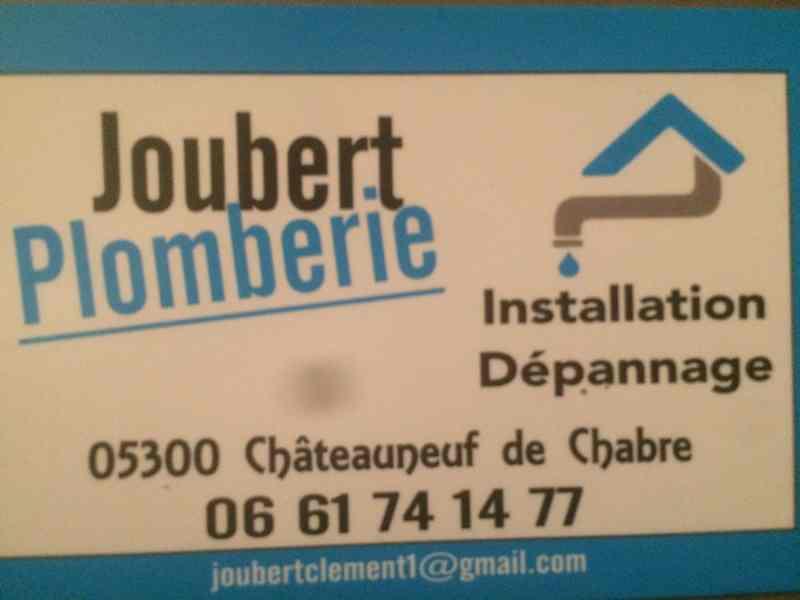 Logo de Joubert plomberie, société de travaux en Dépannage en plomberie : fuite, joints, petits travaux