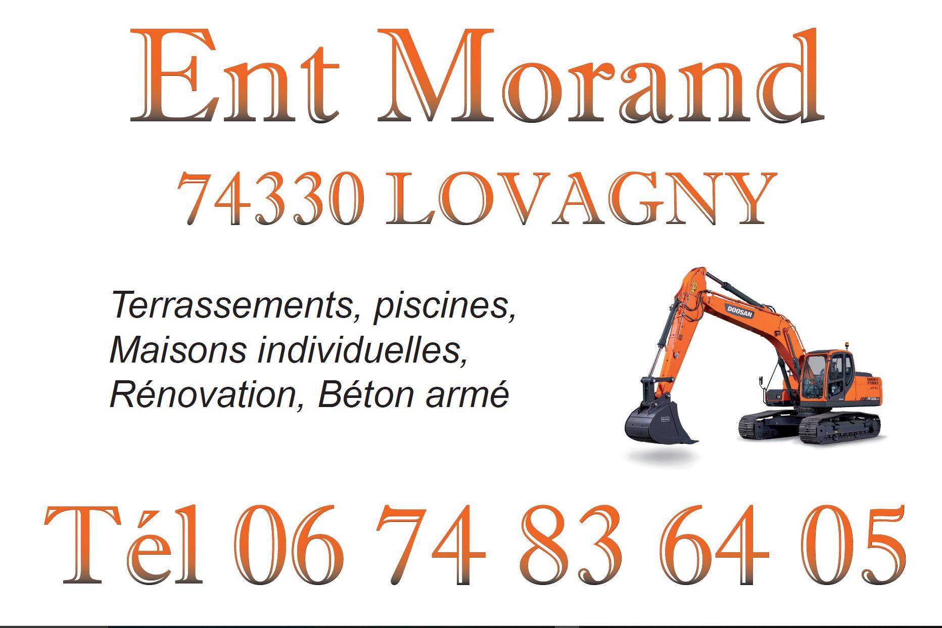 Logo de morand sas, société de travaux en Extension de maison