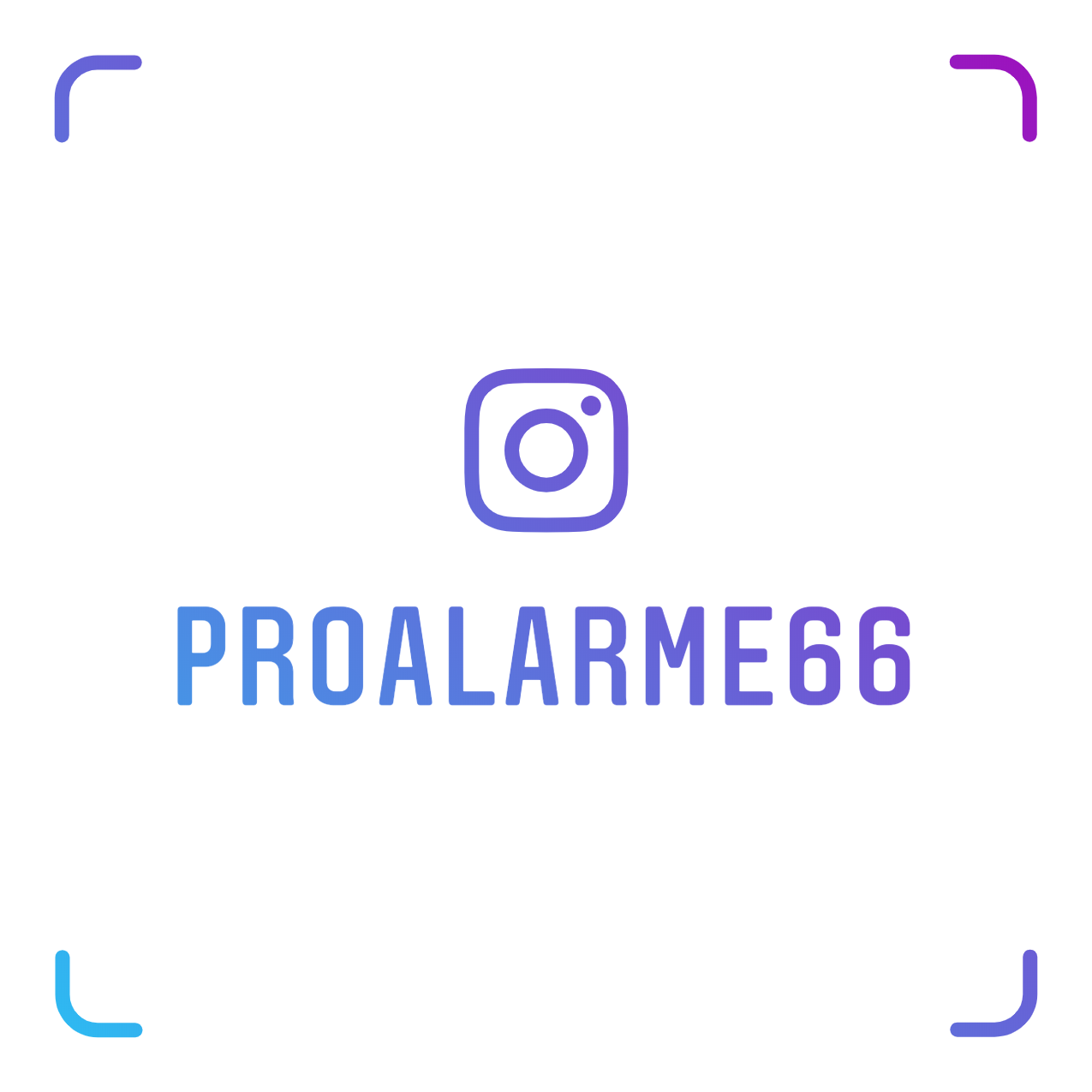 Logo de Proalarme, société de travaux en Alarme domicile
