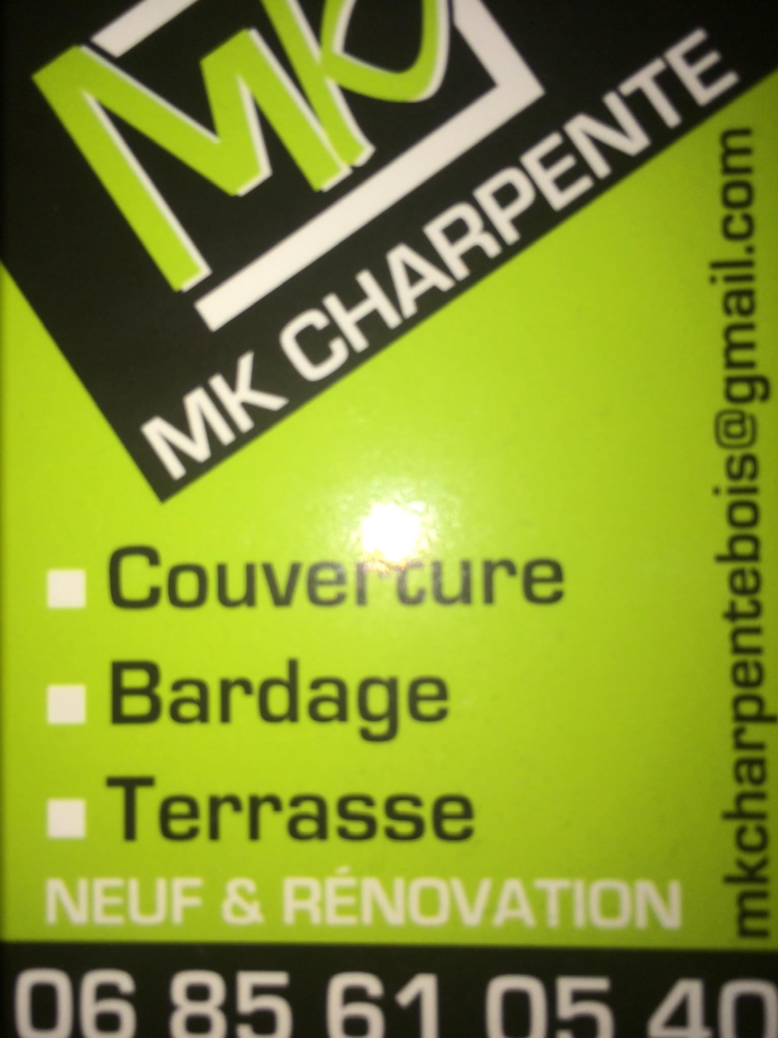 Logo de MKCHARPENTE, société de travaux en Fourniture et installation d'une fenêtre de toit