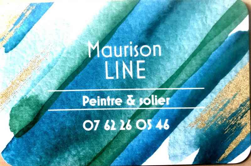 Logo de line, société de travaux en Peinture : mur, sol, plafond