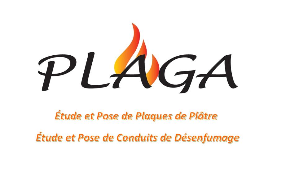 Logo de PLAGA, société de travaux en Construction, murs, cloisons, plafonds en plaques de plâtre