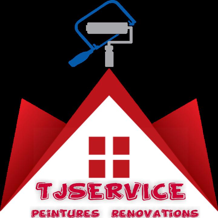 Logo de TJ SERVICES, société de travaux en Peinture : mur, sol, plafond