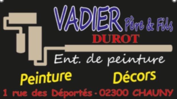 Logo de Vadier - durot, société de travaux en Peinture : mur, sol, plafond