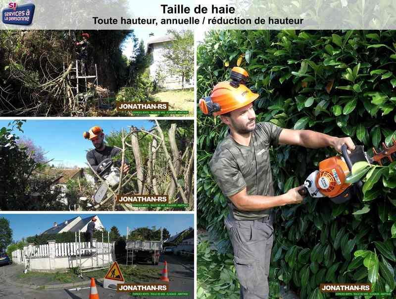 JONATHAN-RS, artisan spécialisé en Entretien de jardin (ponctuel ou à l'année)