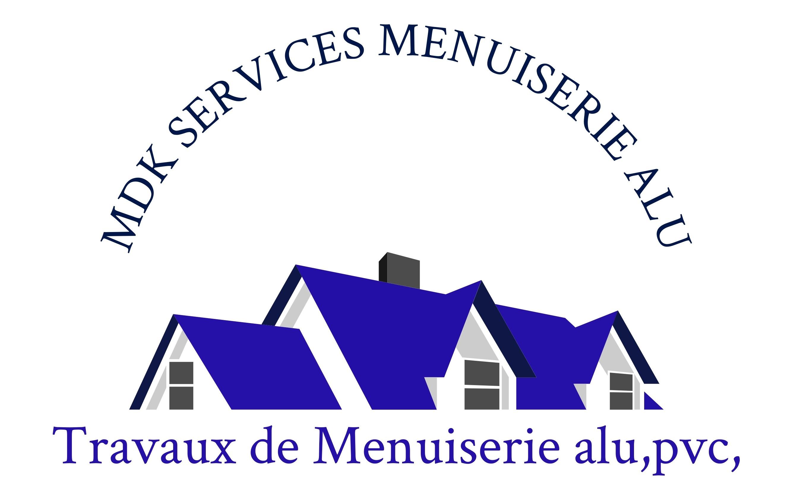 Logo de MDK.SERVICES MENUISERIE ALU, société de travaux en Fourniture et changement de serrures intérieures / extérieures