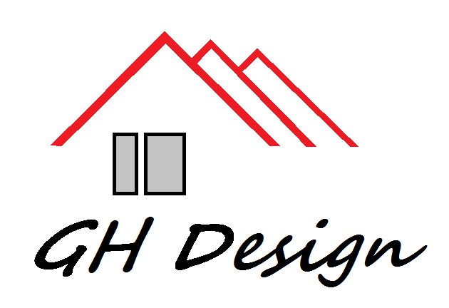 Logo de GHDesign, société de travaux en Peinture : mur, sol, plafond