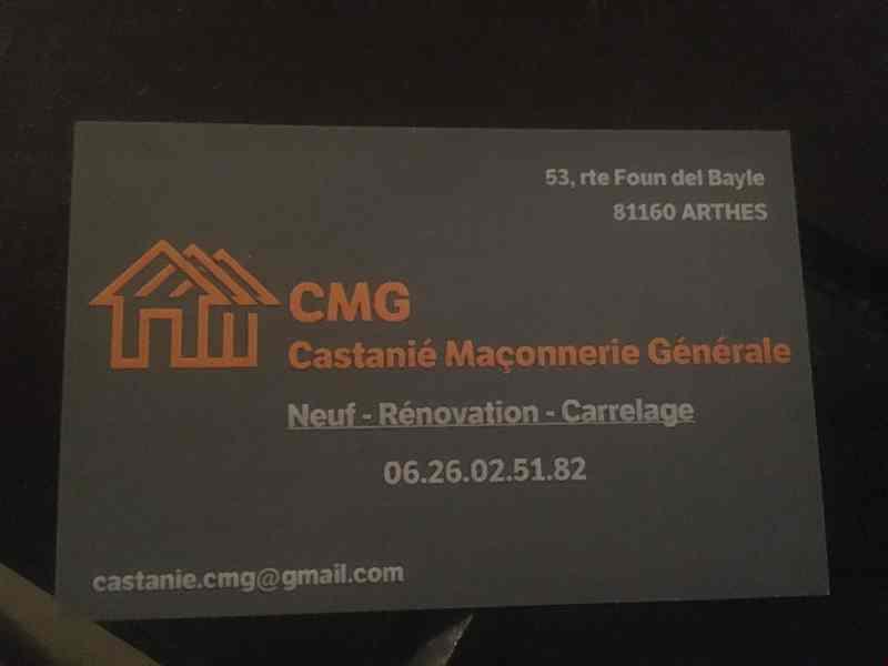 Logo de Cmg, société de travaux en Construction de maison