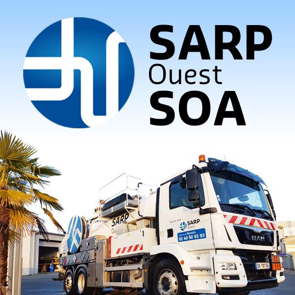 Logo de SARP Centre Ouest, société de travaux en Assainissement - Fosses septiques - forage