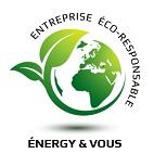 Logo de energy et vous, société de travaux en Production électrique : photovoltaïque / éolien