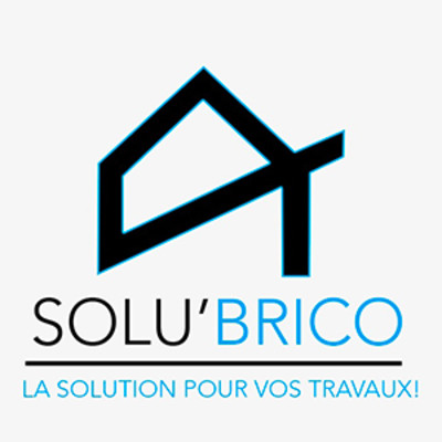 Logo de SOLU'BRICO, société de travaux en Fourniture et pose de faux plafonds