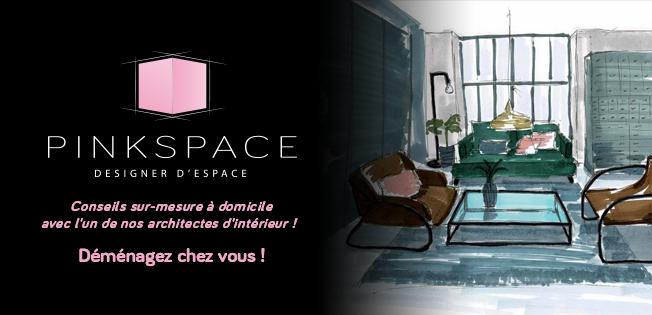 Logo de Pinksapce, société de travaux en Architecture d'intérieur