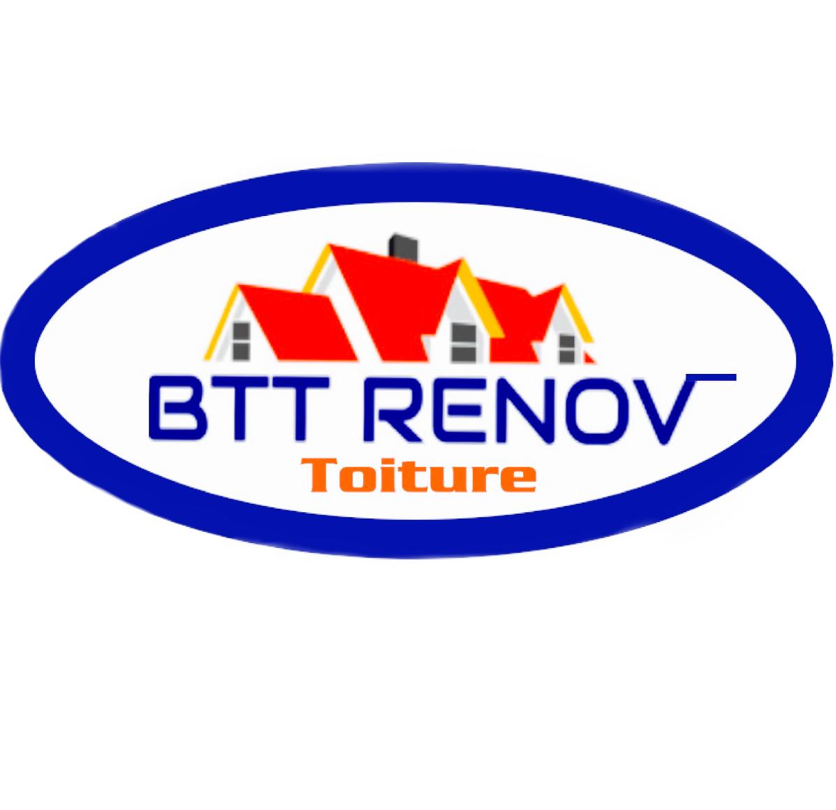 Logo de BTT RENOV, société de travaux en Nettoyage de toitures - façades - bardages