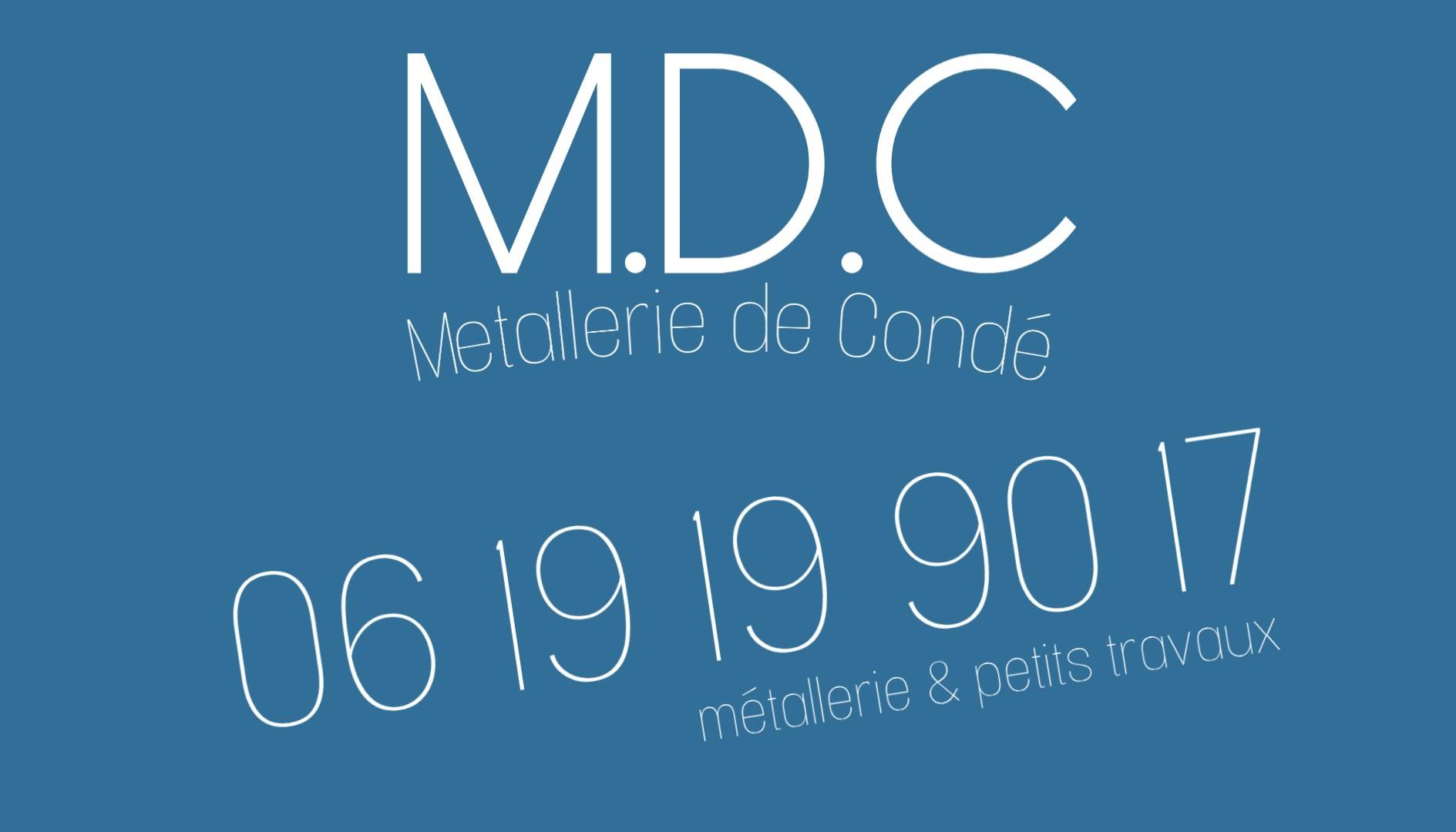 Logo de MDC, société de travaux en Portail : fourniture et installation