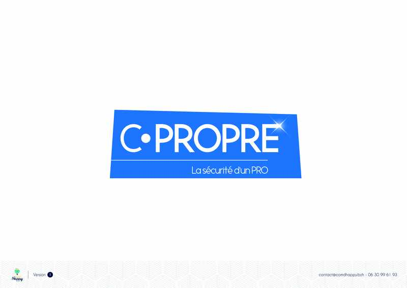 Logo de C.Propre, société de travaux en Décrassage ou démoussage de toiture