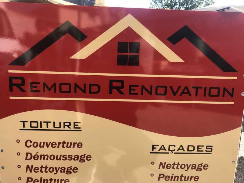 Logo de Remond, société de travaux en Nettoyage de toitures - façades - bardages