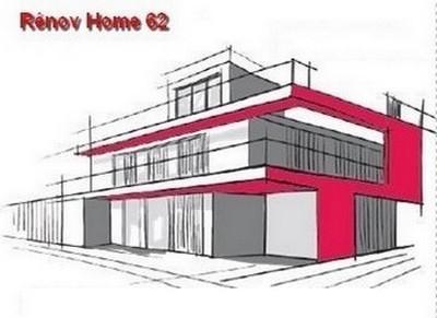 Logo de RENOVHOME 62, société de travaux en Plomberie : installation ou rénovation complète