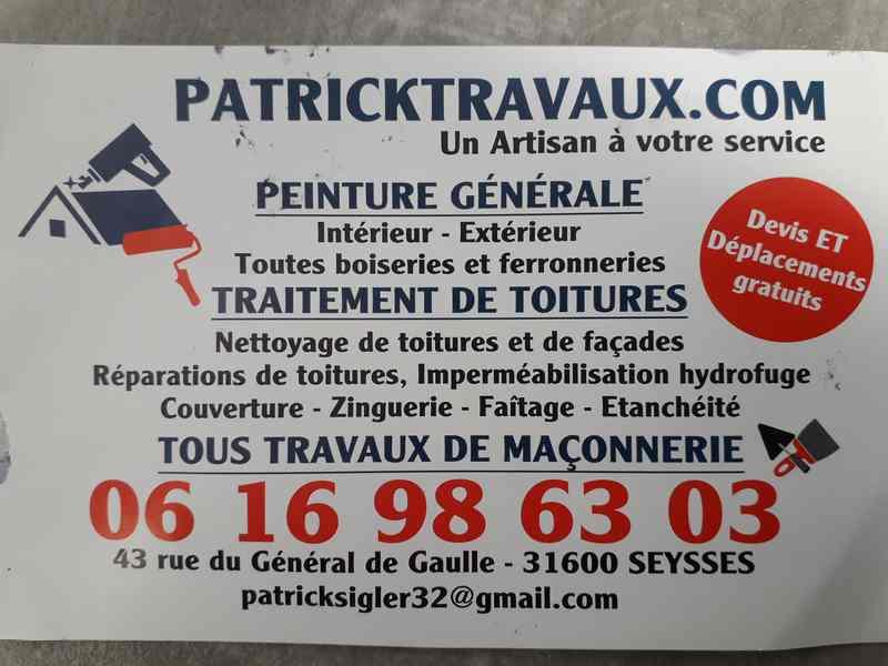 Société Patricktravau.com