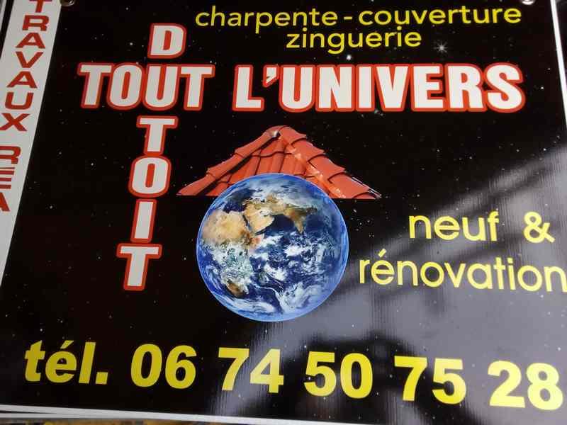 Logo de Tout l'univers du toit, société de travaux en Construction de maison