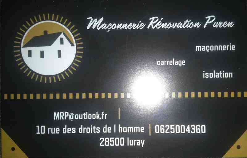 Logo de MRP, société de travaux en Ravalement de façades