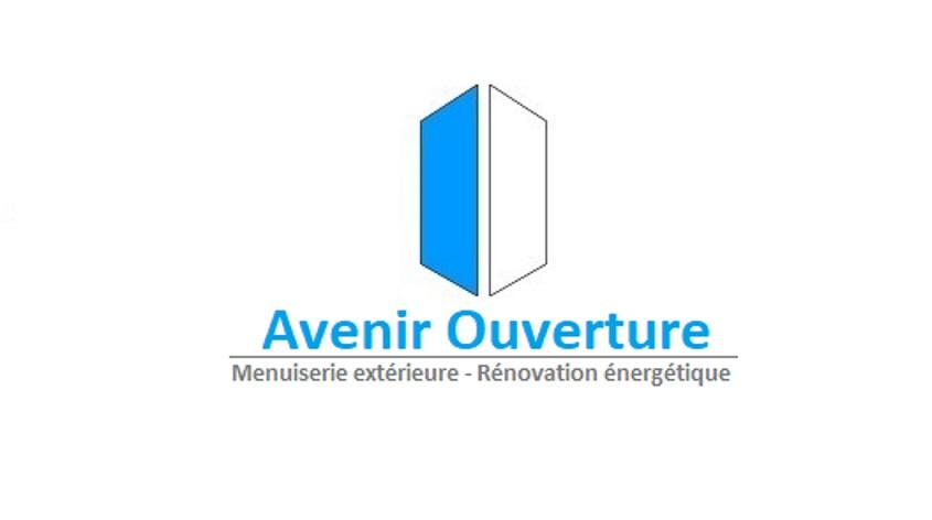 Logo de Avenir ouverture, société de travaux en Fourniture et remplacement de porte ou fenêtre en PVC