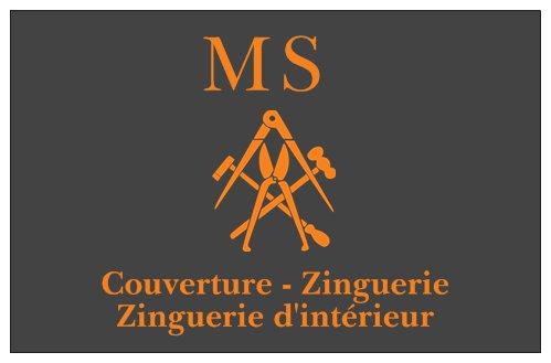 Logo de MS Couverture-Zinguerie, société de travaux en Couverture complète (tuiles, ardoises, zinc)
