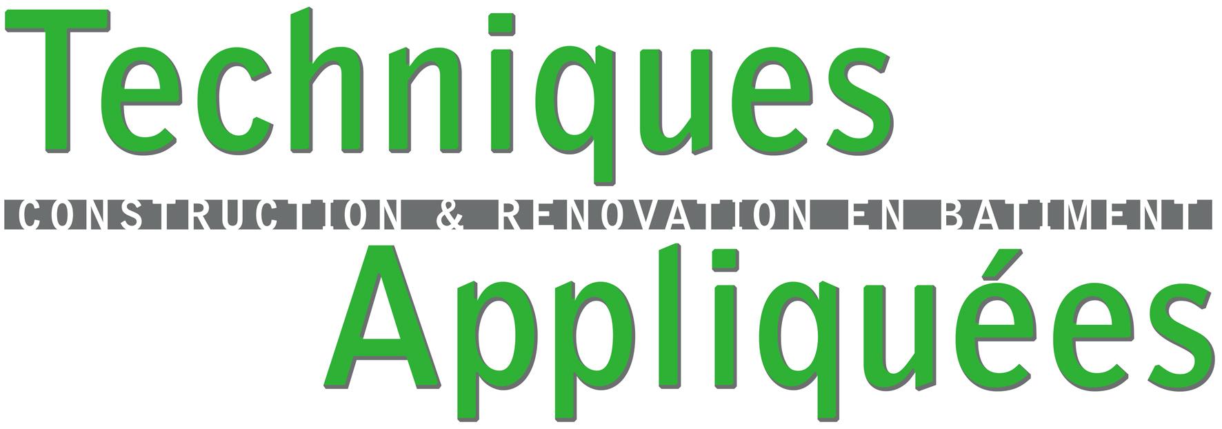 Logo de techniques appliquées, société de travaux en Construction de maison