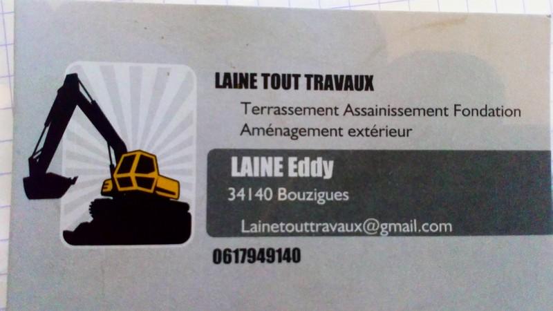 Logo de Laine tout travaux terrassement, société de travaux en Assainissement - Fosses septiques - forage