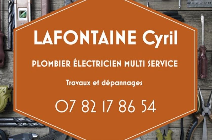 Logo de LAFONTAINE, société de travaux en Plomberie : installation ou rénovation complète