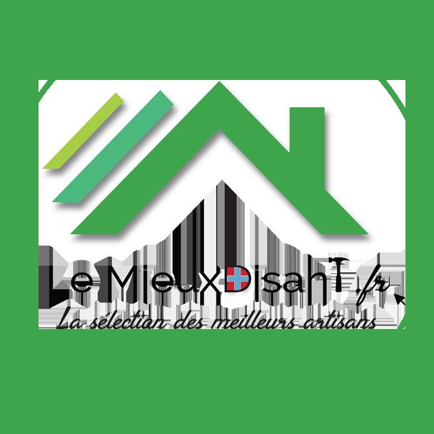 Logo de Le MieuxDisant, société de travaux en Maçonnerie : construction de murs, cloisons, murage de porte