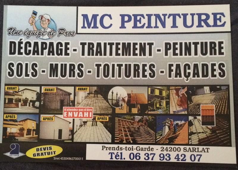 Logo de Mc, société de travaux en Nettoyage toitures et façades