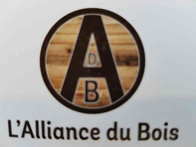 Logo de L'ALLIANCE DU BOIS, société de travaux en Fabrication de meubles en bois sur mesure