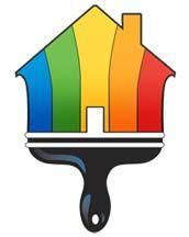 Logo de Peintre, société de travaux en Peinture : mur, sol, plafond