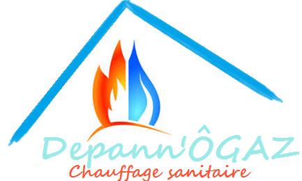 Logo de Dépann'ÔGAZ, société de travaux en Dépannage de chaudière, chauffe-eau, chauffe-bains