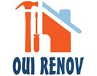 Logo de Oui renov, société de travaux en Construction, murs, cloisons, plafonds en plaques de plâtre