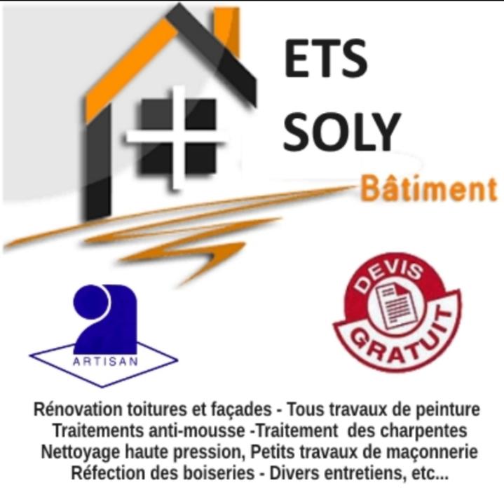 Logo de Ets Soly, société de travaux en Peinture : mur, sol, plafond