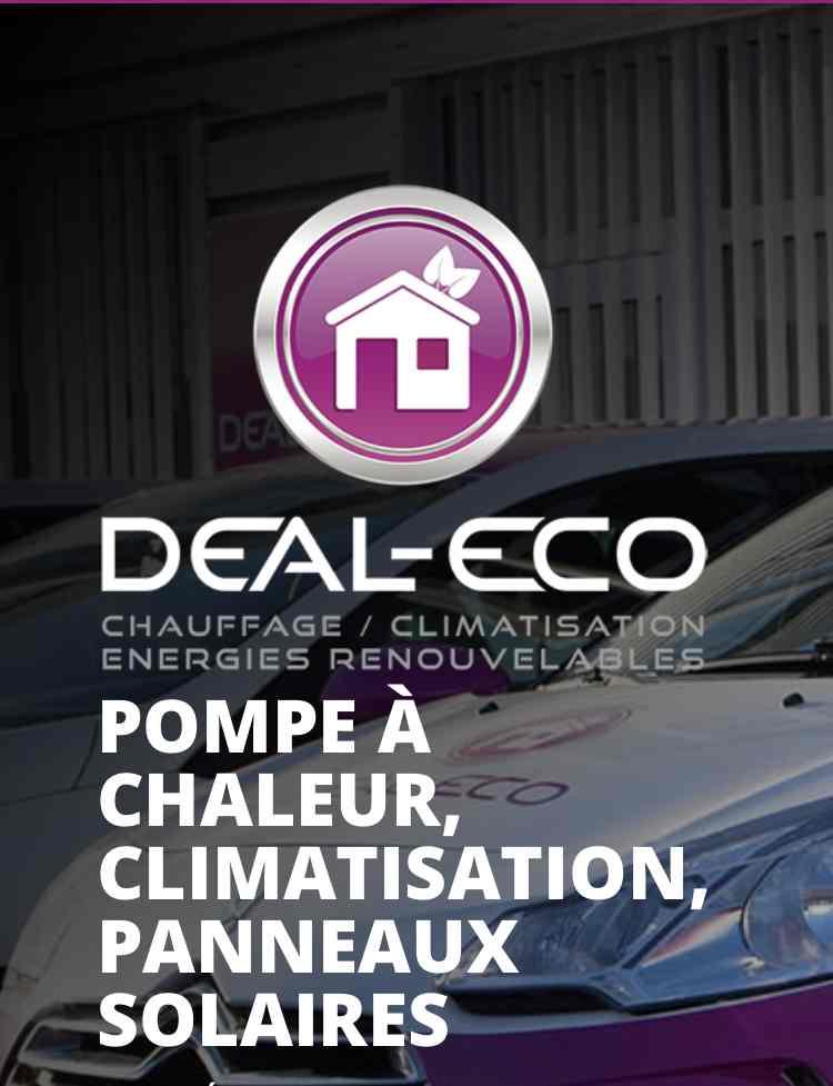 Logo de Deal-Eco, société de travaux en Autre travaux Chauffage