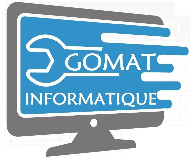 Logo de GOMAT INFORMATIQUE, société de travaux en Antenne TV : réparation, fourniture ou pose