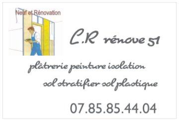 Logo de L.R rénove51, société de travaux en Construction, murs, cloisons, plafonds